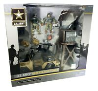 U.S. Army Observation Tower Playset W/ Figures Camo Military - BRAND NEW!!!