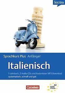 Lextra - Italienisch - Sprachkurs Plus: Anfänger: A1-A2 ... | Buch | Zustand gut