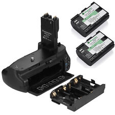 BG-E7 Battery Grip For Canon EOS 7D DSLR Camera + 2 LP-E6 Battery Packs
