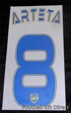 Arsenal Arteta 8 2013/14 UCL Liga de Campeones Camiseta De Fútbol nombre/número de distancia