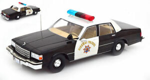 Model Car Police Scale 1:18 Chevrolet Caprice California Highway Patrol
