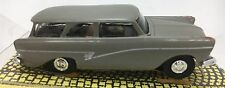BAUER FORD 17M/P2 STATION WAGON GRAY AUTO WORLD T-JET CHASSIS HO SLOT CAR