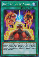 YuGiOh Battlin' Boxing Spirits - SHSP-EN060 - Super Rare - 1st Edition Near Mint