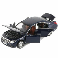 1:32 Mercedes-Benz Maybach S650 Limousine V12 Model Car Diecast Toy Vehicle Blue