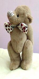 """Brambley-Tum soft toy teddy bear sewing pattern by pcbangles.  9"""" teddy bear"""