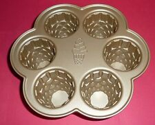 Ice Cream Cone Cupcake Pan by Nordic Ware Makes 6 Cakes 4.5 Cups/1 Liter Total