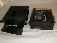 Vtg Portable Cassette Recorder Emerson Dictating Machine & Case Built in MIC