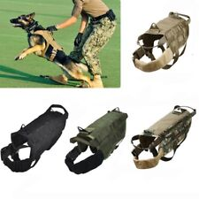 [EL] XS S M L XL Tactical Police Dog Military American Vest Service Dog Molle