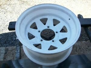 "1970s International Harvester IH Scout, Truck Firestone 15x8"" Mag Wheel 6/77"