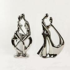 Large Plating Ceramic Couple Figurines Statue Sculpture Wedding decoration home