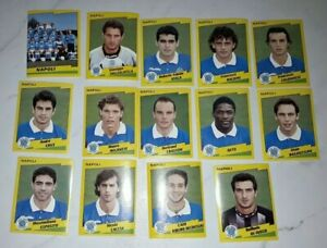 FIGURINA CALCIATORI PANINI NAPOLI 1996-97   MENU A TENDINA