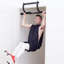 Chin-Up PullUp Bar Heavy Duty Doorway Home Fitness Gym Upper Body Muscle Workout