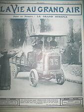 CONCOURS VEHICULES INDUSTRIELS BERLIET GRAND PRIX HIPPIQUE VIE AU GRAND AIR 1908