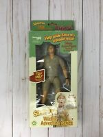 Steve Irwin Talking Action Figure Doll Toy Wildlife Adventure Series SEALED S72
