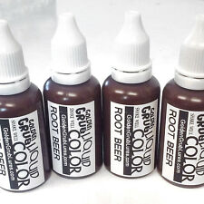 NEW 1 OZ. ROOT BEER Liquid Color Dye Fishing Soft Bait Lure Making plastisol