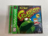 Frogger - Sony PlayStation 1 PS1 - Greatest Hits Complete. Free Shipping