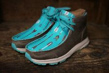 Ariat Women's Spitfire Granite Suede & Turquoise Arrows Casual Shoes 10031673