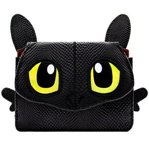 NEW OFFICIAL HOW TO TRAIN YOUR DRAGON TOOTHLESS BLACK COIN & CARD POUCH