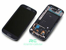 LCD + DISPLAY + FRAME COMPLETO TOUCH SAMSUNG GALAXY S3 i9300 BLU BLUE HQ