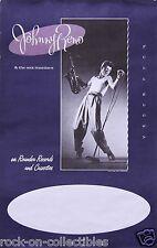 JOHNNY RENO & SAX MANIACS 1985 FULL BLOWN PROMO POSTER ORIGINAL