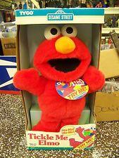 Tyco Sesame Street Tickle Me Elmo Doll