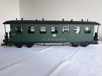 """G Gauge Continental Outline """"TB"""" Green Coach, boxed"""