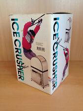 Eiscrusher Eiszerkleinerer Crushed Ice Maker mit Kurbel Skier super Ansehen !!