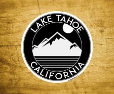 "Lake Tahoe California Decal Sticker  3"" x 3"" Skiing Lakes Boating Black"