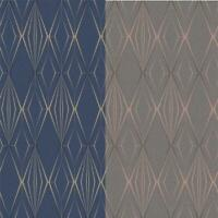 Holden Decor Antares Diamond Geo Glitter Wallpaper 2 Colours