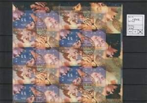 Nederland gestempeld 1996 used sheet V1702 - Kerst / Christmas
