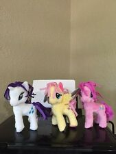"NWT 6"" MLP plush lot My Little Pony FRIENDSHIP MAGIC RARITY shutterfly PINKIE PI"