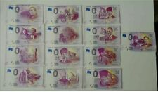 13 x 0 Euro Turkey - including first ATATURK - Mix of 13 banknotes - NICE SET