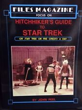 Files Magazine Focus Hitchhiker's Guide to Star Trek or Trek on 5 Credits a Day