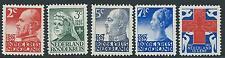 1927TG Nederland. Rode Kruis NR.203-207 postfris, mooie series