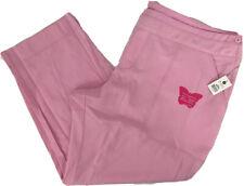 Koi Mariposa Maddi Womens Plus 3X Petite Pink Sachet Scrub Pants Style#727-P Nwt