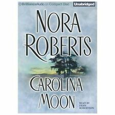 CAROLINA MOON unabridged audio book on CD by NORA ROBERTS - Brand New! 15 Hours!