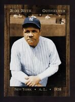 BABE RUTH '20 NEW YORK YANKEES LIMITED EDITION MONARCH CORONA NEAR MINT