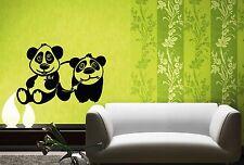 Wall Stickers Vinyl Decal For Kids Panda Baby Animal Nursery ig1448