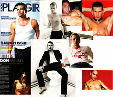 PLAYGIRL 2-06 SEAN PATRICK FLANERY NUDE BOXER PLASTER CASTER FEB 2006 HARD TO F