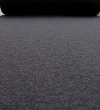 Filz ca 3,5mm dick Farbe anthrazit meliert Filz Meterware dunkelgrau anthrazit