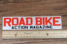 ROAD BIKE ACTION Magazine Sticker - HUGE - Mountain Bike MTB Downhill