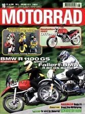 M9616 + Vergleich BMW R 1100 GS vs. Fallert- R 80 GS Basic + MOTORRAD 16 1996