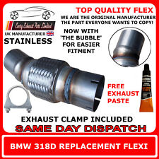 BMW 318D Exhaust Flexi Flex Easy Repair DPF, Cat Pipe, Catalyst Stainless