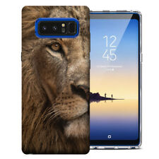 For Samsung Galaxy Note 8 Harmony 2 UV Printed Design Case Lion Face Phone Cover