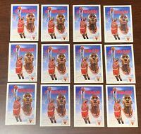 1991 MICHAEL JORDAN UPPER DECK #75 INVESTORS LOT OF 12 CARDS, NM-MT CONDITION