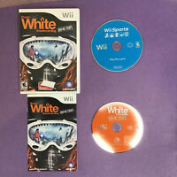 Lot of 2 Nintendo Wii Sports Game Disc and Shaun White Snowboarding Games