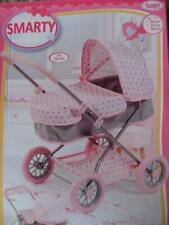 Orig. Bayer >>> poupées voiture Smarty/rose-gris <<< à 46 cm Poupées