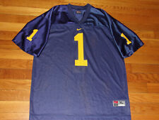 NIKE MICHIGAN WOLVERINES FOOTBALL JERSEY BOYS XL EXCELLENT CONDITION
