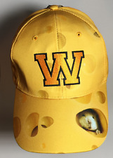 Wisconsin Cheese Hat, Polyester Design Adjustable Snap Back Cap