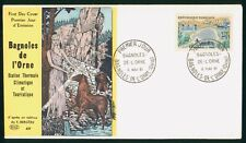 Mayfairstamps France FDC 1961 Bagnoles de L Orne Lake and Buildings First Day Co